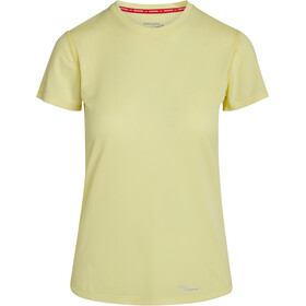 saucony Stopwatch Short Sleeve Women sunny lime